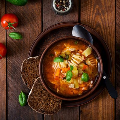 recette soupe minestrone thermomix