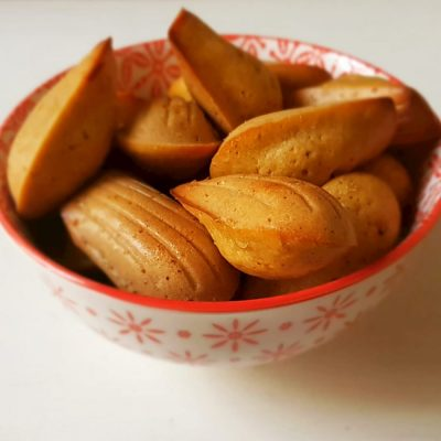 recette madeleines light thermomix